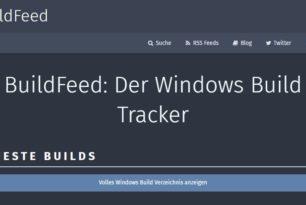 Buildfeed vor dem Aus [Update]: Wurde eingestellt – 5 Jahre haben sie gute Arbeit geleistet