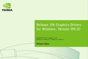 GeForce 399.07 WHQL Treiber steht bereit