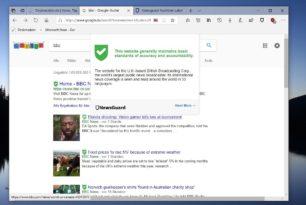 NewsGuard – Schutz vor Fake News Seiten als Erweiterung für den Chrome und Microsoft Edge