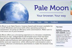 Pale Moon 28 ist erschienen – Firefox Browser als Open Source Fork mit alten Funktionen