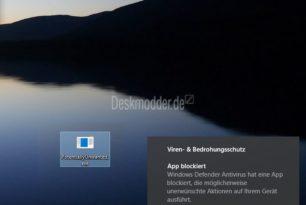 PUA Schutzfunktion im Windows Defender aktivieren – Windows 10