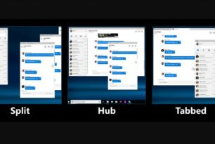 Skype: Compact View (Split View) könnte wiederkommen – Microsoft startet eine Umfrage