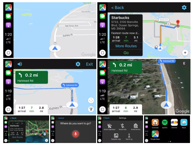 Google Maps Carplay Unterstutzung Nun Unter Ios 12 Verfugbar