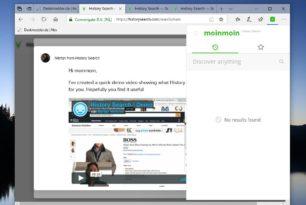 History Search – Neuer Dienst speichert alle besuchten Seiten  Erweiterungen für die Browser stehen bereit