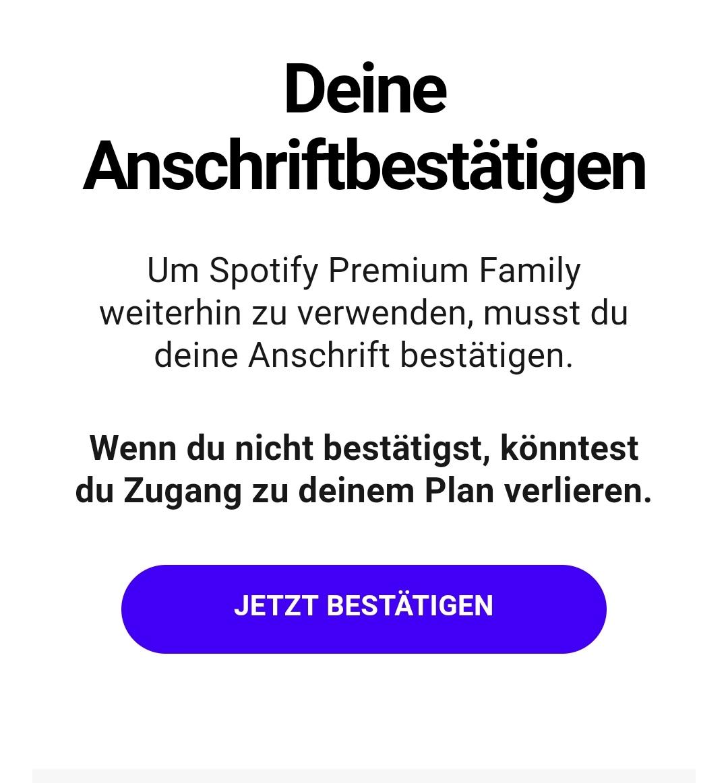 Spotify überlegt Familien-Abos mit Ortsabfragen zu prüfen