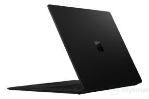 Microsoft Surface Laptop 2018 in Schwarz?