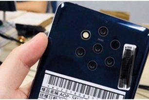"""""""Nokia 9"""" (TA-1094) mit 5 Kameras im Bild geleakt"""