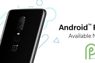 OnePlus 6: Finale Version von Android 9 Pie steht zur Verfügung