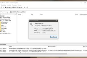Registry Finder 2.29 mit Verbesserungen steht bereit