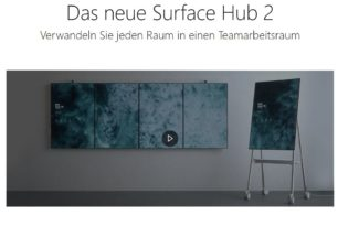 Surface Hub 2S und 2X angekündigt