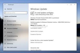 Windows 10 18242 (19H1) steht für die Insider im Skip Ahead bereit