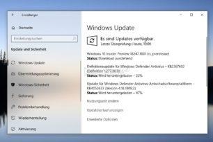 Windows 10 18247 steht für die Insider im Skip Ahead bereit