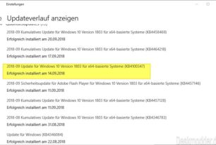 Windows 10 KB4100347 (Microcode) killt die Übertaktung bei Broadwell-E CPUs