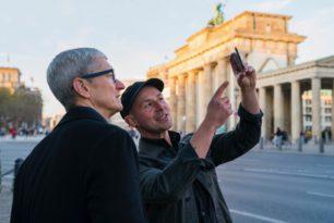 Apple – Tim Cook auf Besuch in Berlin