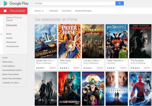 google play sd und hd filme in 4k kostenlos aktualisieren. Black Bedroom Furniture Sets. Home Design Ideas