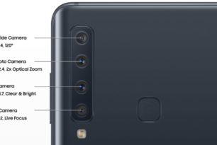 Details zum Quad-Kamera Smartphone von Samsung aufgetaucht