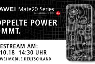 Huawei Mate 20 Event: Präsentation im Livestream verfolgen