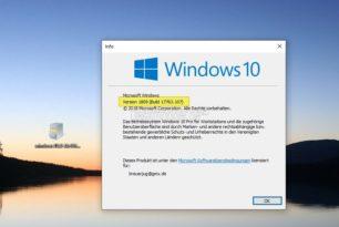 KB4464455 v2 Windows 10 17763.107 (Manueller Download) 2.Patch 13.11. 2018