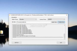 License Switch – Windows 10 Versionswechsel mit einem kleinen Tool