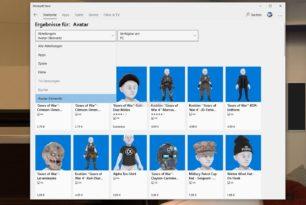 Elemente für die Xbox Avatare nun im Microsoft Store