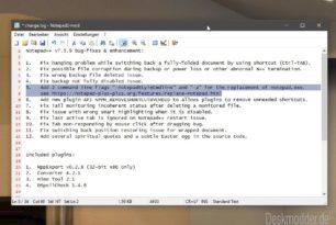 Notepad++ 7.5.9 kann nun den Windows Editor als Standard ersetzen