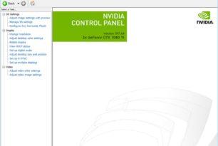 Nvidia Control Panel als App im Microsoft Store [Reg Tweak]