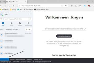 Skype Web-Version steht als Preview bereit