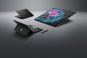 Schwarze Surface-Geräte: Bild-Leak kurz vor Präsentation