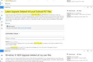 Windows 10 1809 Bug – Microsoft hätte das Feedback der Insider besser lesen sollen