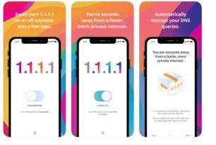 1.1.1.1 DNS Service von Cloudflare startet Android und iOS Apps