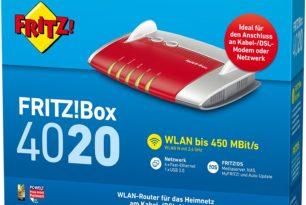 Kleines Update: FRITZ!Box 4020 erhält neue Laborversion (6.98-63245)