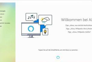 Alexa als App steht im Microsoft Store zum Download bereit