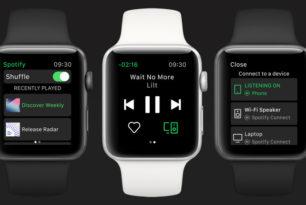 Spotify für iOS: Update bringt Unterstützung für die Apple Watch mit