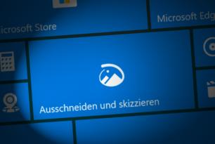 Ausschneiden und skizzieren nun auch mit Fenster ausschneiden in der Windows 10 [Update]