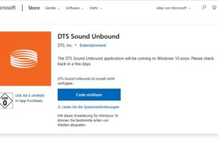 DTS Sound Unbound App kommt in den nächsten Tagen [Update]