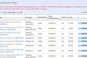 Hotfix Download Service für Windows 10 wurde von Microsoft eingestellt