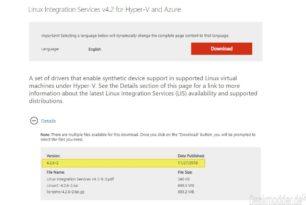 Linux Integration Services v4.2 (4.2.6-2) für Hyper-V und Azure steht bereit
