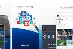 Microsoft Launcher 5 (5.0.1.46982) mit Zeitleiste und Cortana unter Windows 10