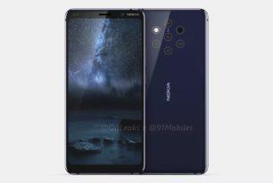 Nokia 9: Smartphone mit 5 Kameras auf Render-Bildern & Video zu sehen