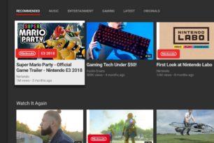 Nintendo Switch: Offizielle YouTube App verfügbar