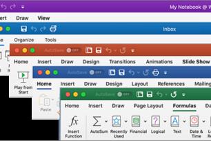 Microsoft Office für Mac bekommt auch neue Ribbons