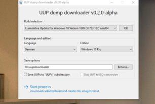 UUP dump downloader 1.0.0. – Der UUPDL mit einer GUI + neuer Funktion [Update]