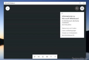 Whiteboard App Hintergrund lässt sich nun farblich ändern