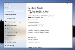 Windows 10 18282 steht für die Insider im Fast Ring und Skip Ahead bereit
