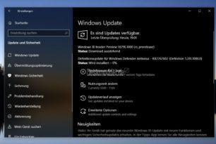 Windows 10 18290 steht für die Insider im Fast Ring und Skip Ahead bereit