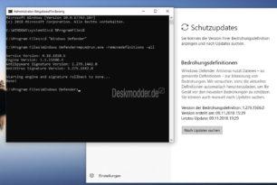 Windows Defender wird nicht aktualisiert [Workaround]