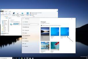 Windows Light Theme in der Windows 10 1903 einmal angeschaut