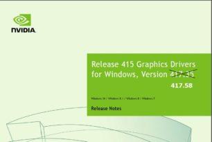 GeForce 417.58 Hotfix Treiber steht bereit
