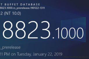Windows 10 Insider Erste Windows 10 1909 18823 (19H2) aufgetaucht