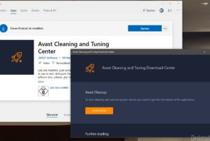 Avast Cleaning and Tuning Center im Microsoft Store – Unglaublich